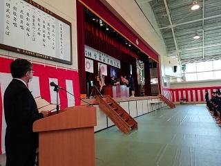 卒業証書授与(9組)
